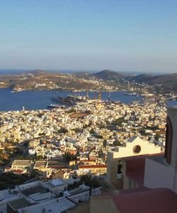 Touring Syros