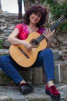 Eleftheria Kotzia: Making magic with her guitar…
