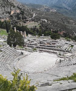 "Delphi:  Journey to the ""Navel"" of the Earth"