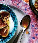 Dried figs spoon sweet