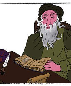 DaVinci  Discovers  Archimedes…