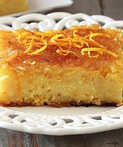 Laconian orange pie