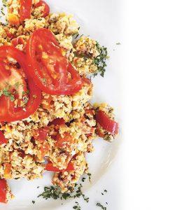 Στραπατσάδα -Tomato & Egg Scramble (Strapatsada)