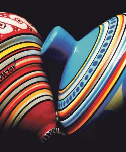 Konstantinos Mougolias and…the art of spinning tops