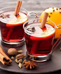 Mulled sweet wine